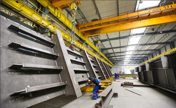 Produkcja konstrukcji mostowych