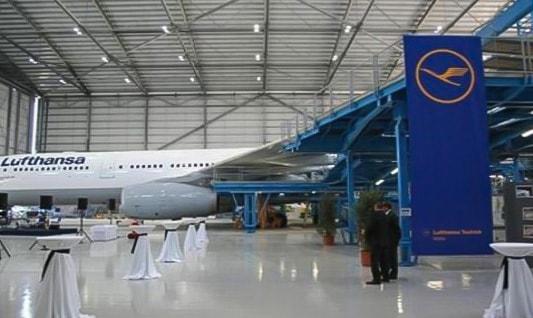 Hangar serwisowy dla samolotów