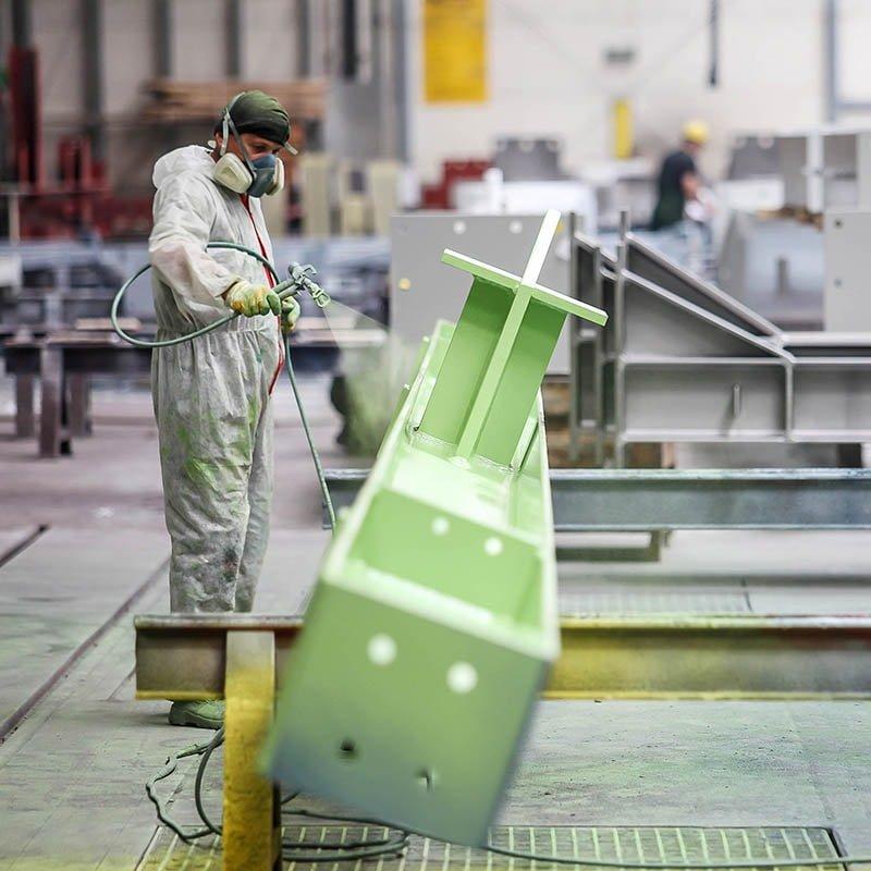 malowanie hydrodynamiczne konstrukcji stalowych