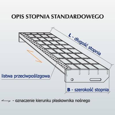 Opis stopnia standardowego